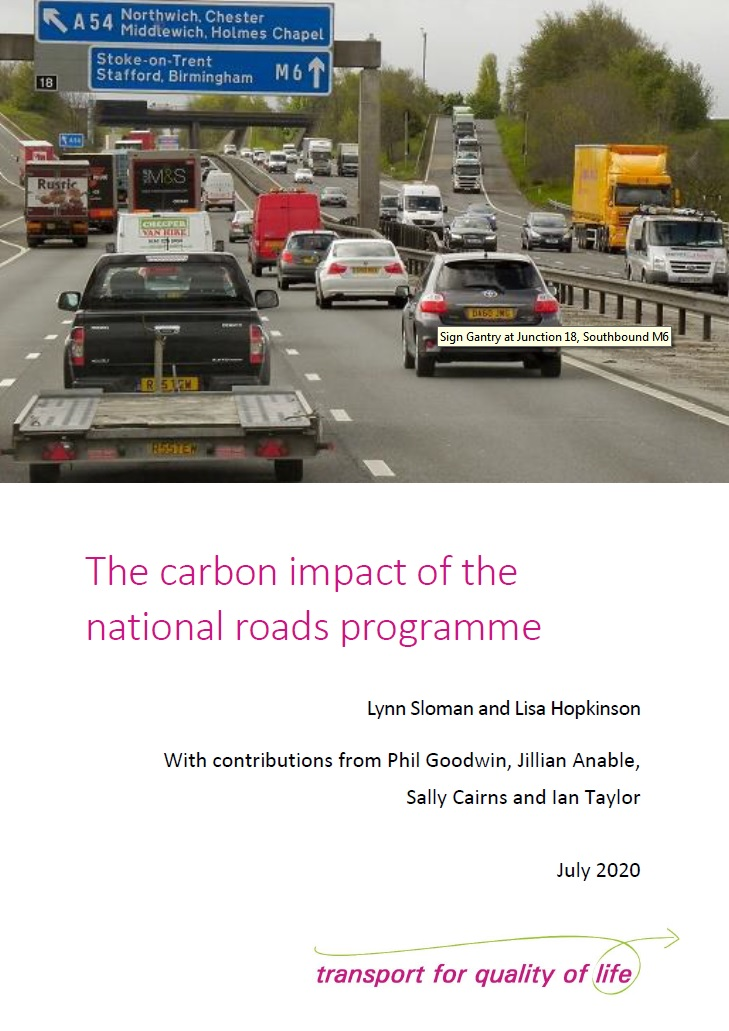 Carbon impact of the roads programme cover image