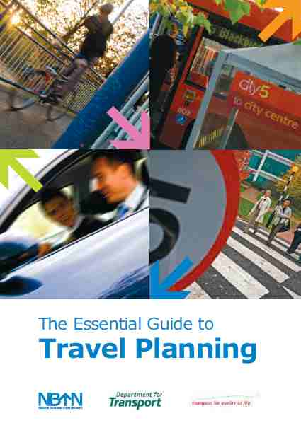 Essential Guide to Travel Planning cover image