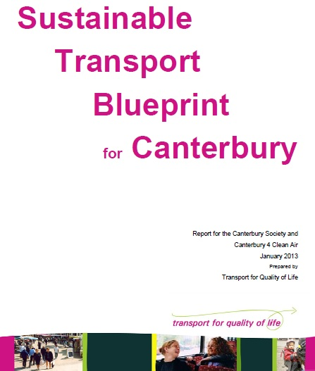 Sustainable Transport Blueprint for Canterbury cover image